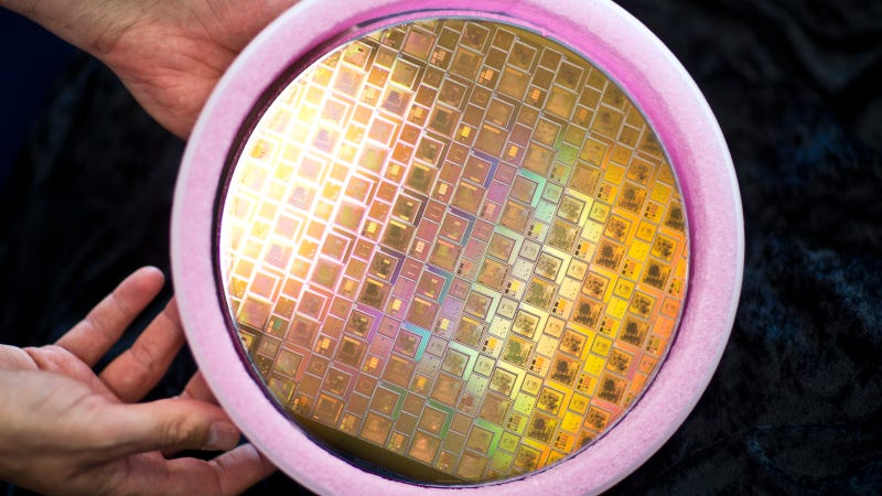 This Sheet of Space-Bound Silicon Contains 1.75 Billion Transistors