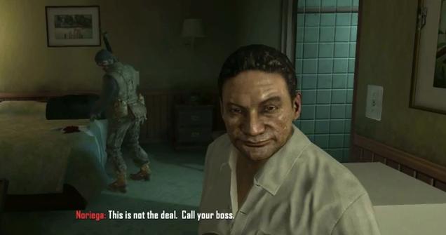 El ex dictador Manuel Noriega demanda a Call of Duty desde la cárcel