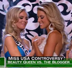 Celebrity Missives About Miss California Make Us Wish For World Peace