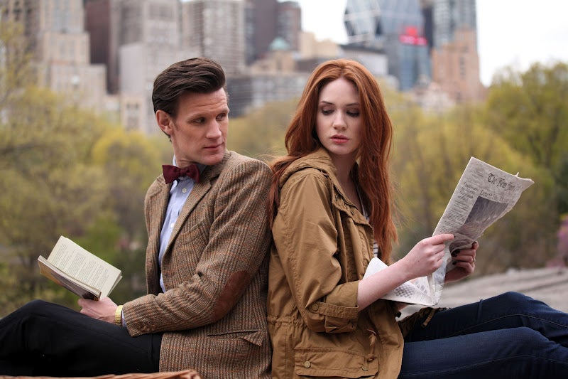 "Doctor Who - ""The Angels Take Manhattan"" Promo Photos"