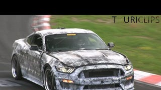 Listen To The Next-Gen Shelby Mustang Bomb Around The Nurburgring