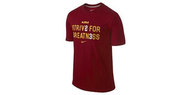 Look At This Stupid Fucking LeBron Shirt