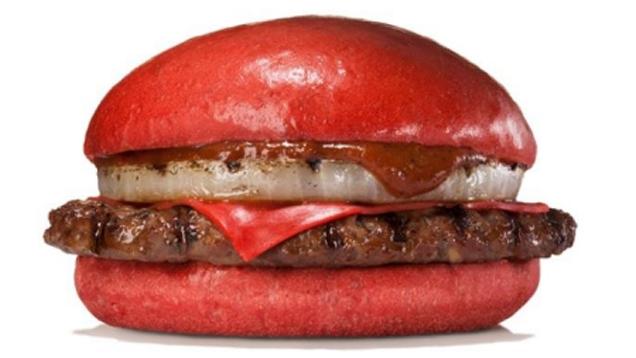Red 21 чизбургер