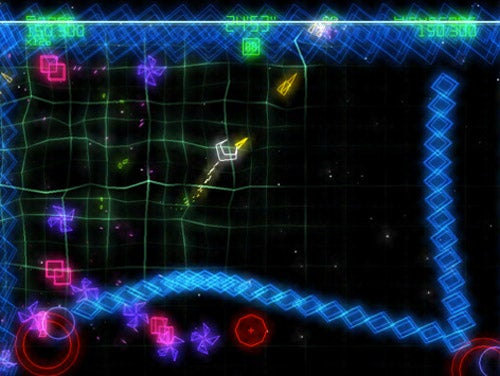Geometry Wars For iPad OMG