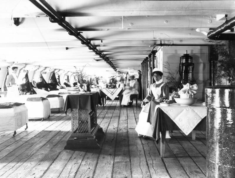 When Floating Hospitals Roamed The Seas