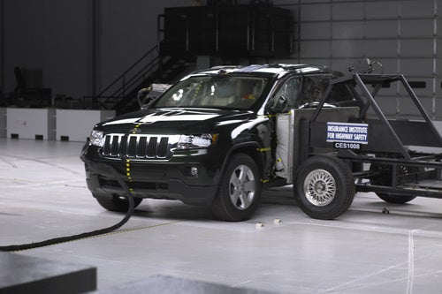 "IIHS Crash Tests 2011 Jeep Grand Cherokee, Other ""SUVs"""