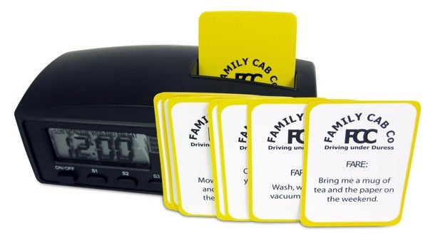 Dad's Cab Family Taxi Meter Will Make Your Children Cringe