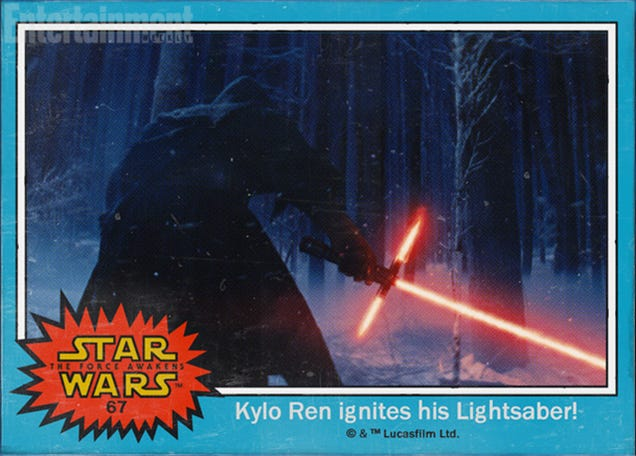 New Star Wars VII villain and hero names revealed in trading cards