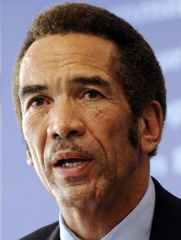 "Botswana President Explains ""No Fatties"" Policy"