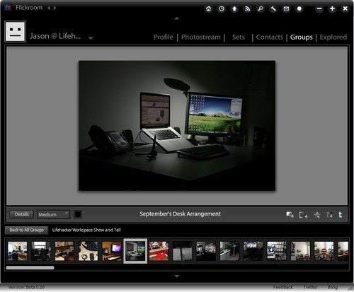 Flickroom Enables Desktop Browsing of Flickr