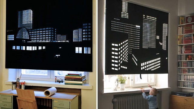 These Window Blinds Provide a Better View When Closed