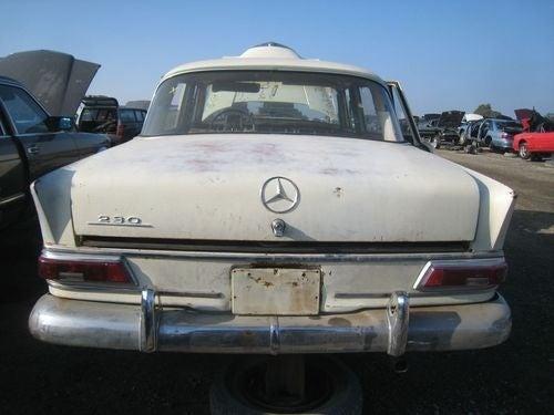 1968 Mercedes-Benz 230 Down On The Junkyard