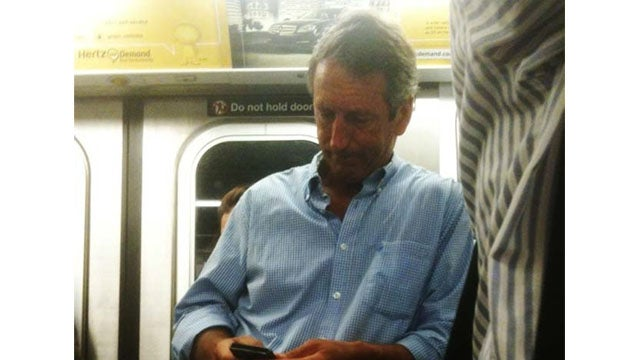 Lusty Ex-South Carolina Governor Spotted on New York Subway