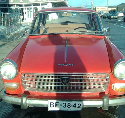 Peugeot 404s On The March: Punta Arenas, Chile