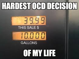 When do you fill your tank?