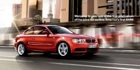 BMW 1-Series Brochure for the US!