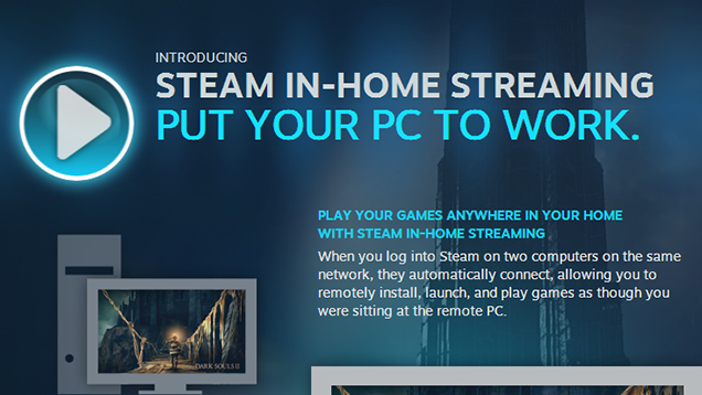 Steam In-Home Streaming Now Available to Everyone