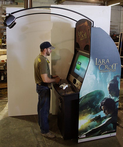 Xbox 360 Re-Done As Arcade Cabinet