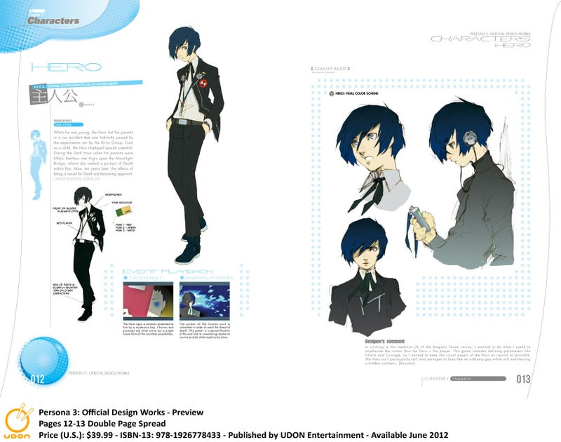 Persona 3: Official Design Works Explores the Artistic Process June 20