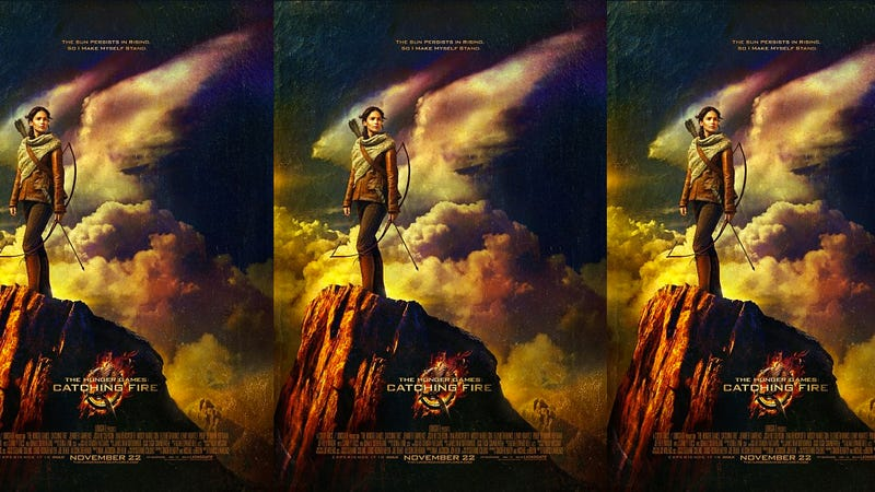 The New Catching Fire Poster Is Pretty Badass