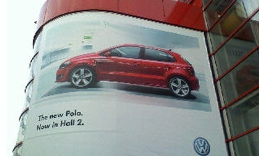 2009 VW Polo: Geneva Expo Billboard Provides First Official Glimpse
