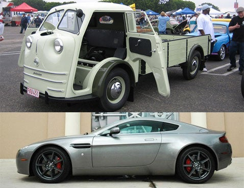 Separating the Jalops From the Boys: Aston Martin V8 Vantage or Tempo Matador?