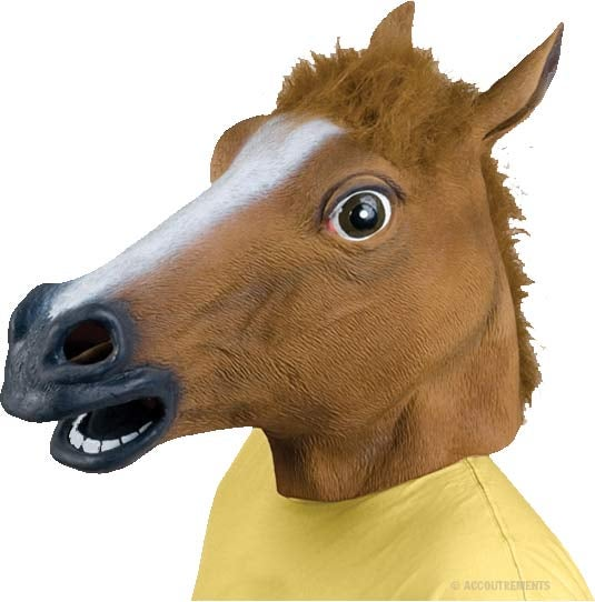 Can someone explain to me why the horse head mask is a thing?
