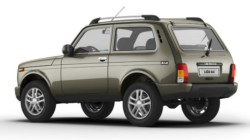 Great News You Guys, The Lada Niva Is Here To Stay!
