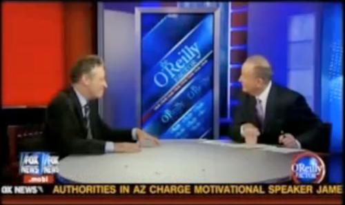 Jon Stewart vs. Bill O'Reilly: Round One