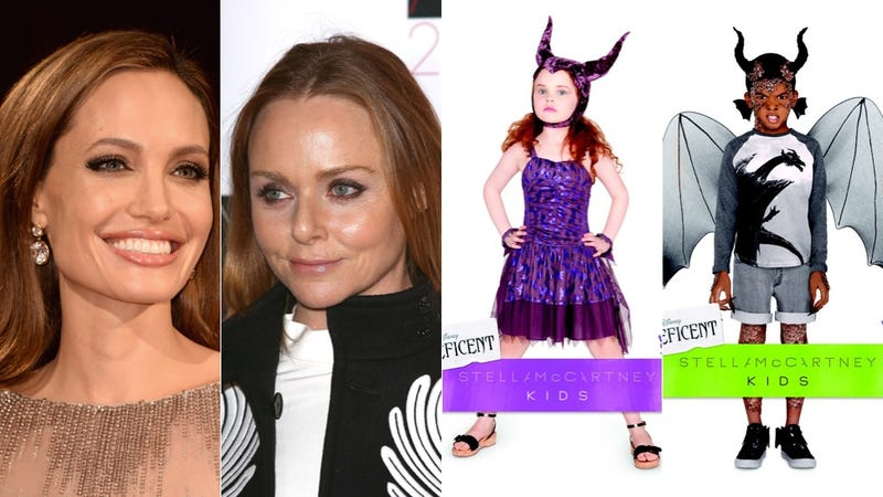 Angelina Jolie and Stella McCartney Made Adorably Evil Kiddie Couture