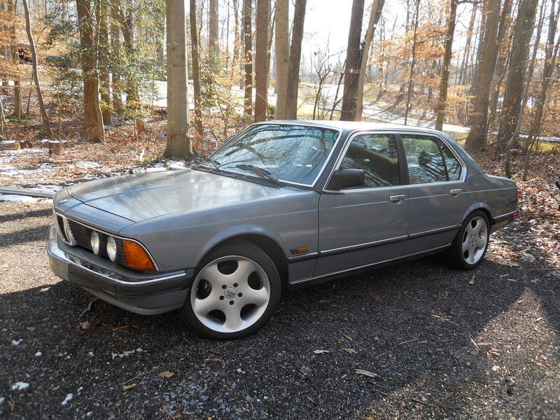 I've Entered A Grey Area - My 1985 BMW 745i