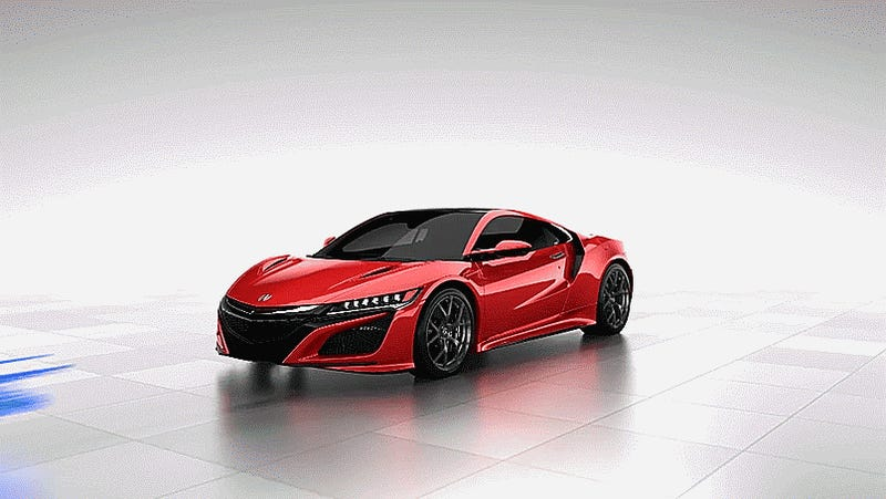 The 2016 Acura NSX Is A Supercar Love Knot