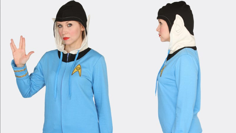 The most awesome Star Trek hoodie we have ever seen