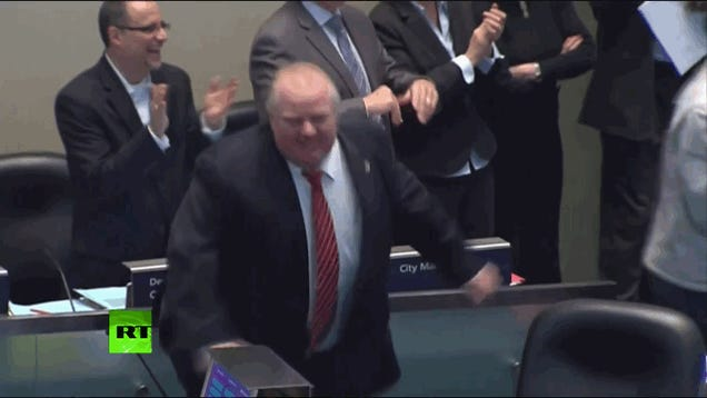 "Rob Ford Declares it ""Bob Marley Day"" in Toronto, Probably Gets High"