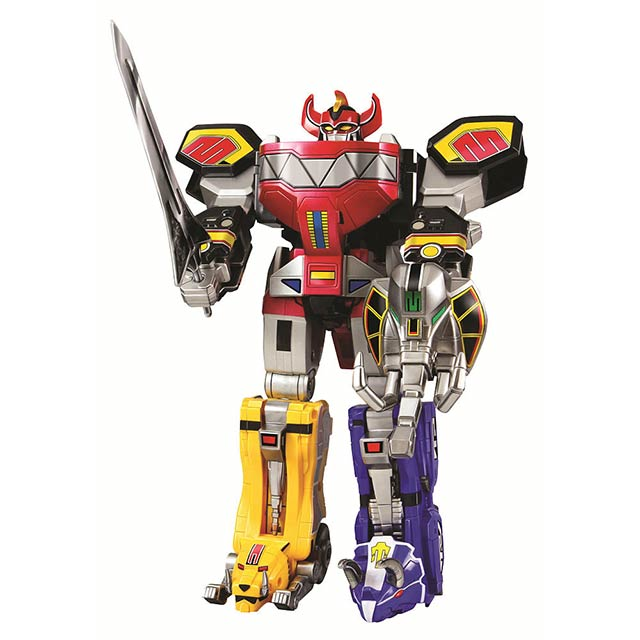 "The Original ""Legacy"" Megazord Is Back, And Completely Awesome"