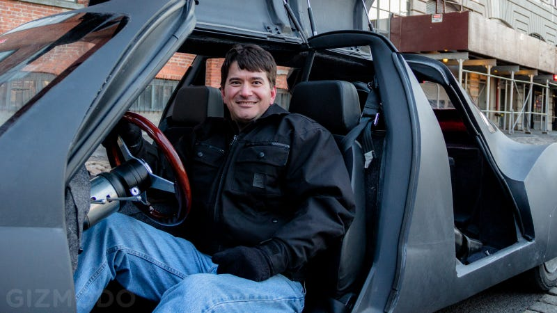 Riding in the Car of the Future, Built in an Illinois Barn