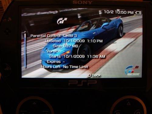 Digital Rentals Built in to PSPgo?