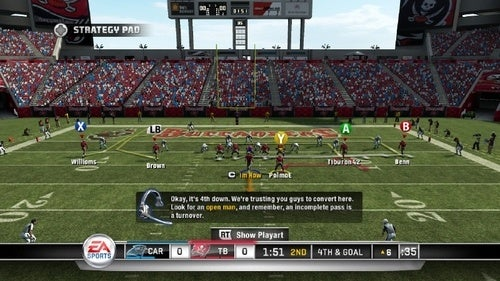 Madden NFL 11 Cooperative Multiplayer Impressions: Ready on Three, Teamwork!