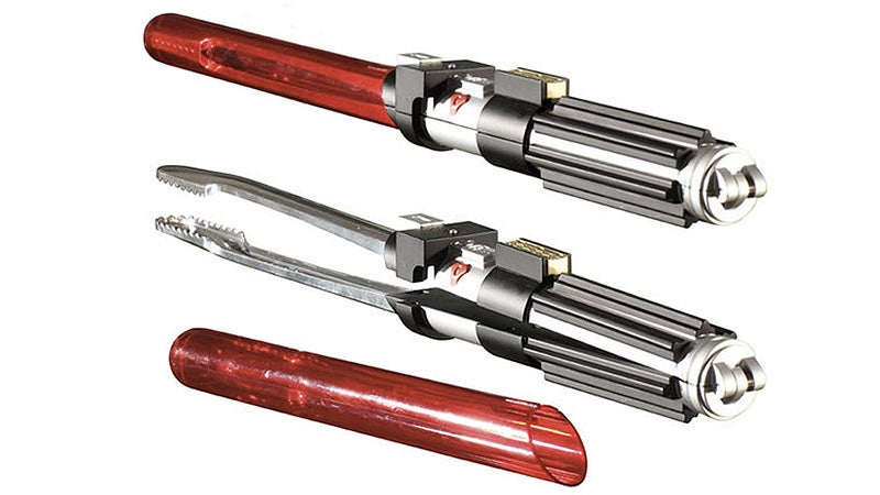 Lightsaber BBQ Tongs For the Evil Sith Grillmaster In Your Life