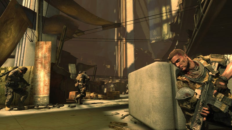 Spec Ops: The Line Screens Don't Paint A Pretty Picture