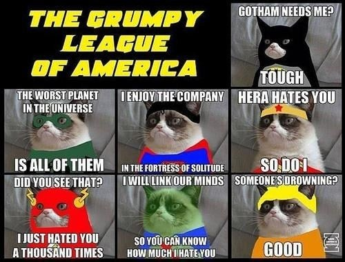 If Grumpy Cat Is a Superhero, Prepare to Save Yourself.