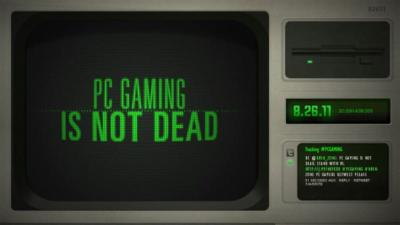 Death of PC Gaming Scheduled to be Disproven on August 26