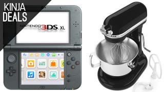 Today's Best Deals: Huge KitchenAid Sale, New 3DS XL, and a Lot More