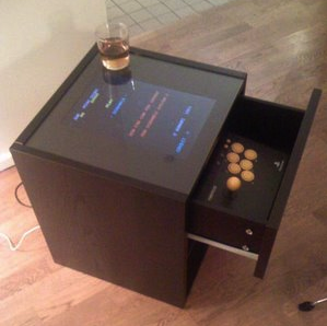 Turn your broken laptop into an arcade cocktail cabinet for Cocktail tables diy