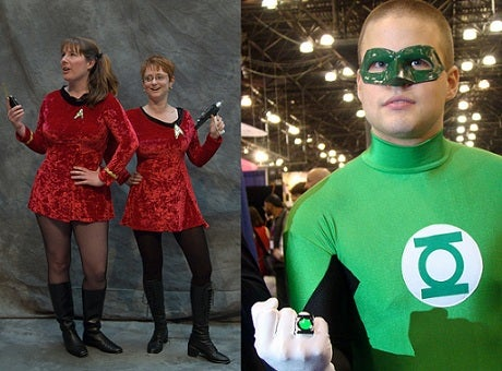 Who'd You Rather Go On A Date With Tonight: A Starfleet Officer Or A Green Lantern?