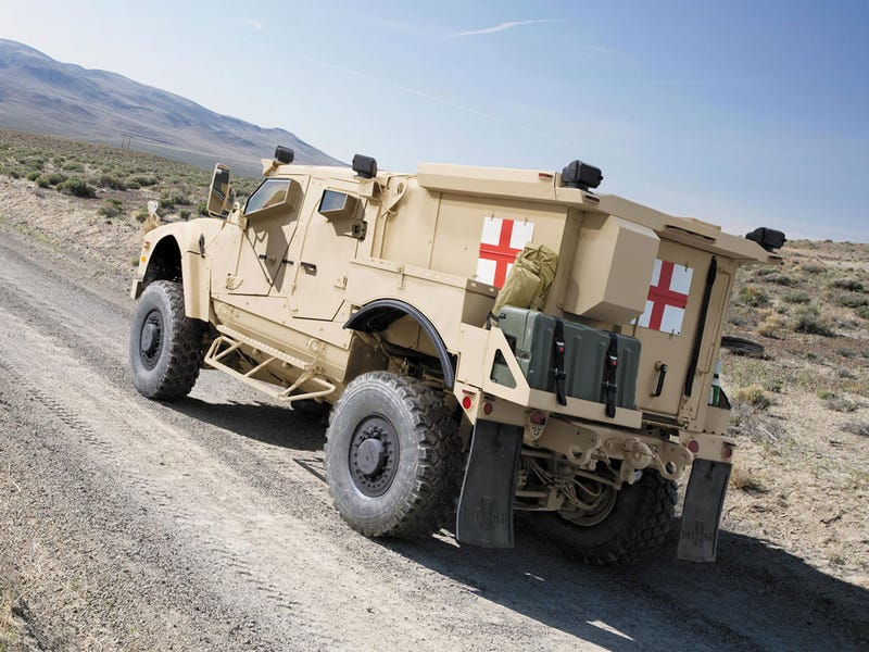 This is the U.S. Army's tough new high-tech ambulance