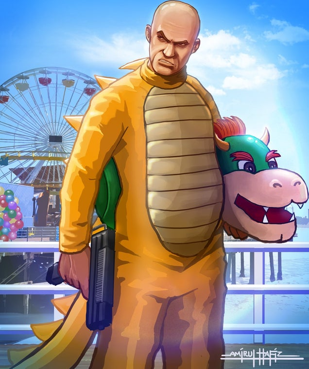If Mario Starred In Grand Theft Auto