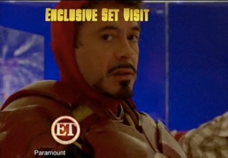 On The Iron Man 2 Set With Lasers, Explosions And RDJ's Ladies