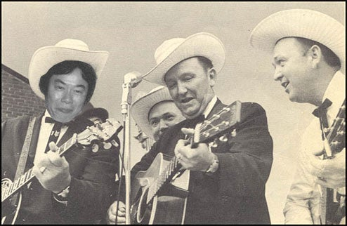 Miyamoto In A Bluegrass Band, Jams In Fields