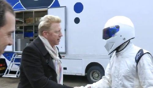 Watch The New Stig Talk